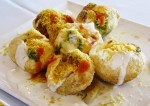 Spicy Dahi Puri Chaat Recipe