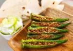 Spicy Stuffed Bhindi Recipe