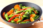 Stir Fried Mixed Vegetables in Butter Recipe