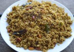 South Indian Style Tamarind Rice Recipe