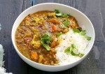 Tasty Brown Lentil  Dal Recipe