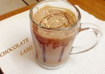 Tasty Chocolate Badam Lassi Recipe