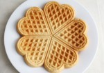 The Best Heart Shape Wheat Waffles Recipe