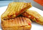 Spicy Onion Tomato Masala Sandwich Recipe