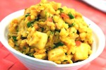 Tasty Urad Dal with Paneer Curry Recipe