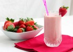 Easy Strawberry Milkshake Recipe | Yummy Food Recipes