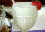 Tasty Fountain Style Vanilla Malt Shake