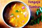 Vengaya Onion Sambar  Recipe