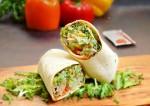 Whole Wheat Veggies Wrap Recipe