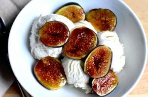 Tasty and Creamy Fig Ice Cream Recipe