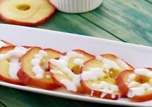 Apple Slices with Vanilla Cream Recipe