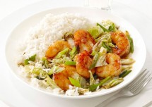 Cabbage and Shrimp Fry Recipe