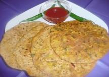 Delicious Egg Paratha recipe