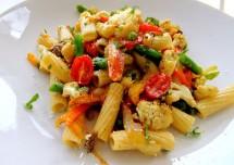 Easy Cheesy Vegetable Pasta Recipe