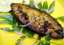 Delicious Fish Fry Green Masala Recipe