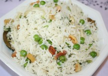 Green Peas Rice Recipe