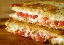 Grilled tomato Cheese Sandwich Recipe