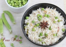 Healthy Green Peas Pulao Recipe