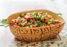 Healthy Sprout and Fruit Bhel Recipe