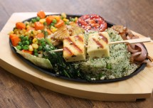 Indian Vegetable Sizzler Recipe