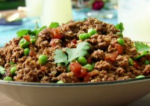 Super Bowl Party Keema Mutter Recipe