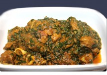 Dairy Free Lamb Spinach Curry