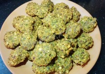 Masala Vade with sapsige soppu Recipe