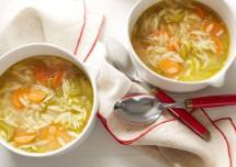 Tasty Vegetable Noodles Soup Recipe