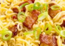 Fried Ramen Noodles and Eggs Recipe