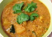 Yummy and Easy Sambar Rice Recipe South Indian