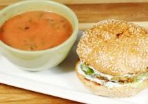 Spicy Chickpea Patty Sandwich Recipe