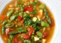 Spring Vegetable soup Recipe