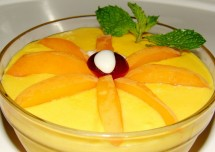 Tasty Mango Custard Pudding Recipe