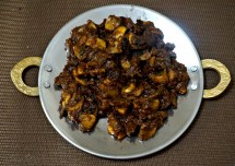 Easy Tava Mushroom Recipe