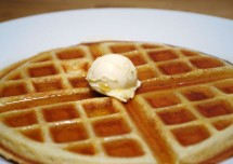 Time pass healthy Waffles for breakfast Recipe