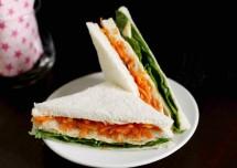 Tricolor\Tiranga Sandwich Recipe