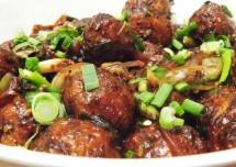 Vegetable Machurian Dry Recipe