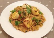 Yummy Hyderabadi Egg Biryani Recipe