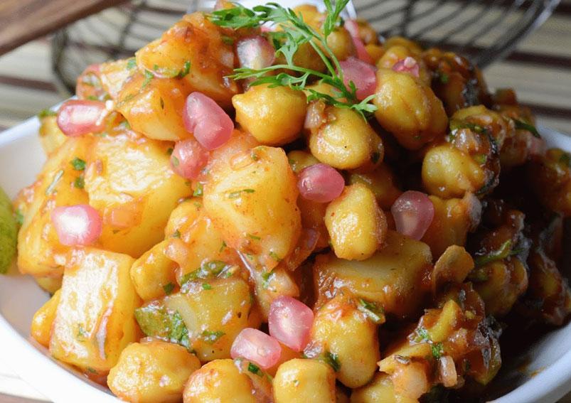 Tasty Aloo (Potato) Chat Recipe