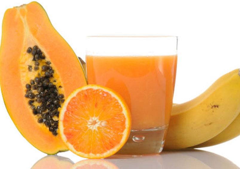 Anti Cholesterol Shake Recipe – Orange Papaya Banana Shake