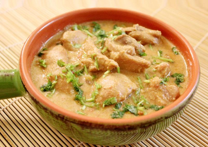 Authentic Chicken Korma Indian Recipe
