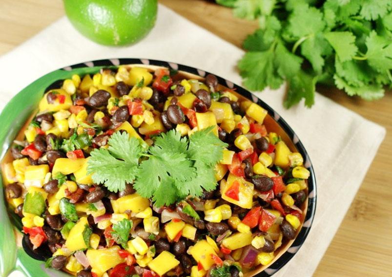 Black Bean and Mango Salsa Recipe