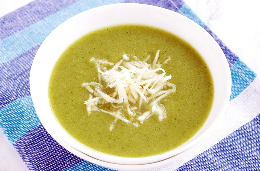 Healthy Broccoli and Almond Soup Recipe