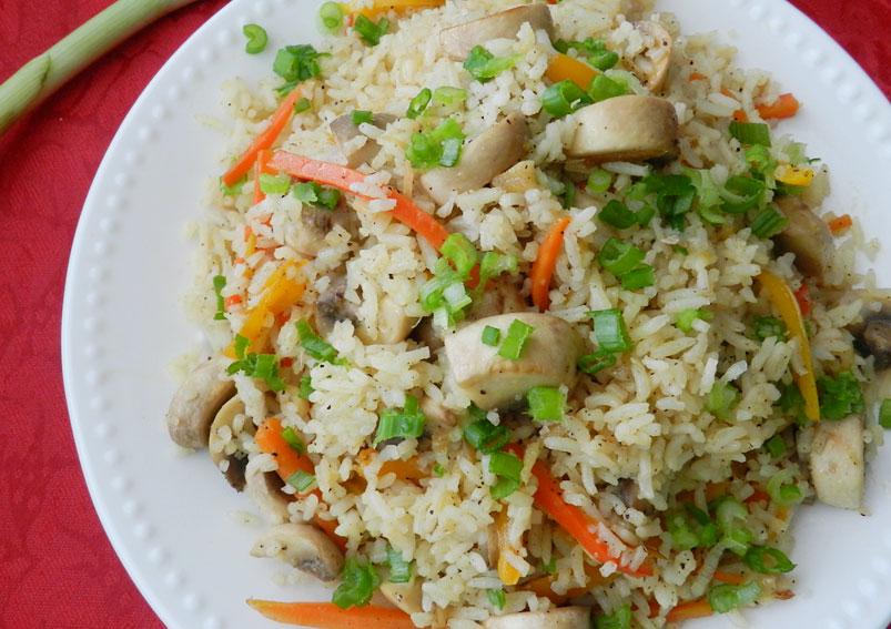 Delicious Mushroom Fried Rice