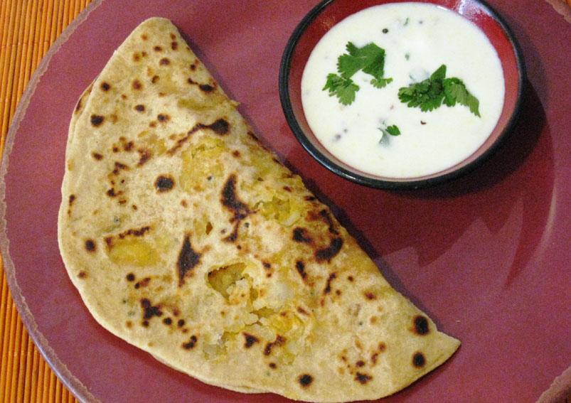 Easy Aloo Paratha Recipe