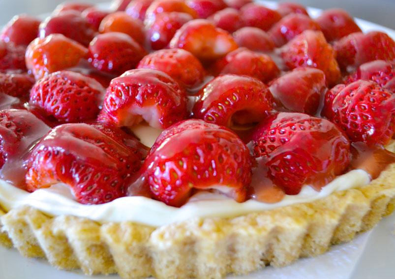Easy Strawberry Tart Recipe