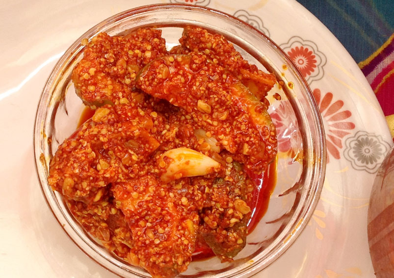 Mango Pickle Recipe - Tamil New Year Special