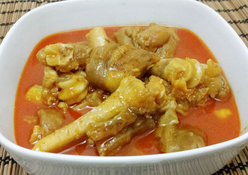 Homemade Mutton Paya Recipe