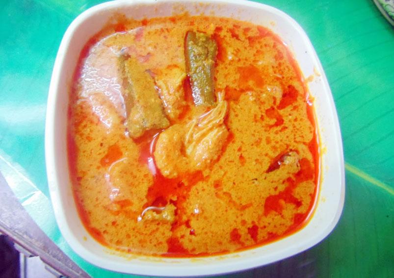 Prawn and Ladies Finger Curry Recipe