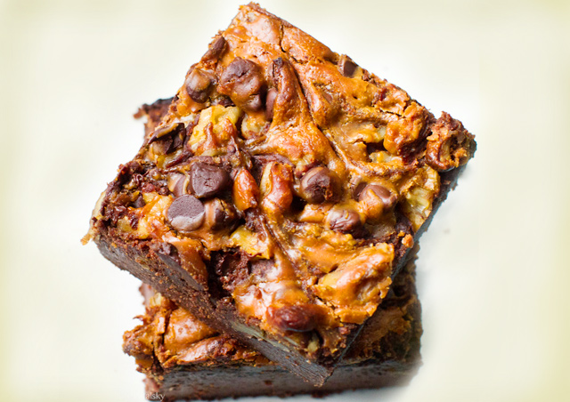 Peanut Butter Swirl Brownie Recipe
